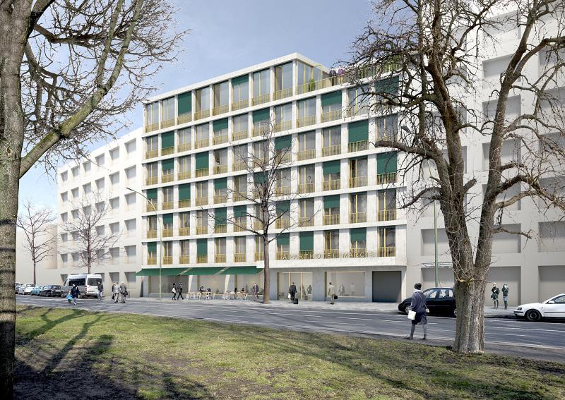 Aparthotel marci mars architekten - Mars architekten ...