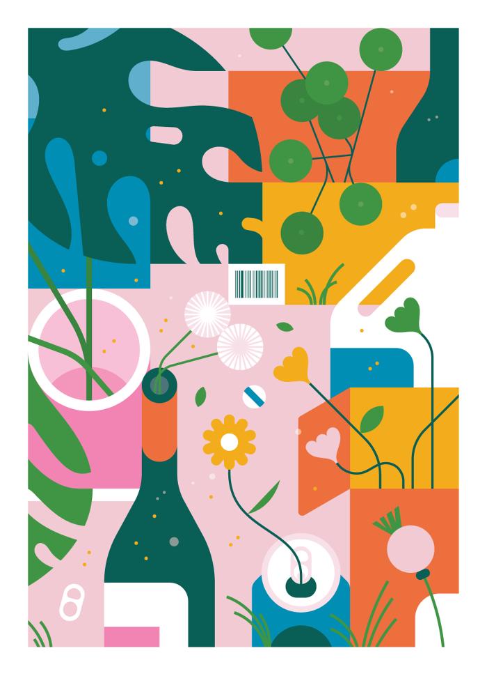 Recycling Jamie Jones Illustration